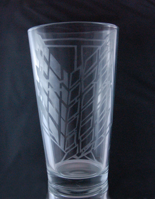 Attack on Titan Wings of Freedom Etched Glass CD-007