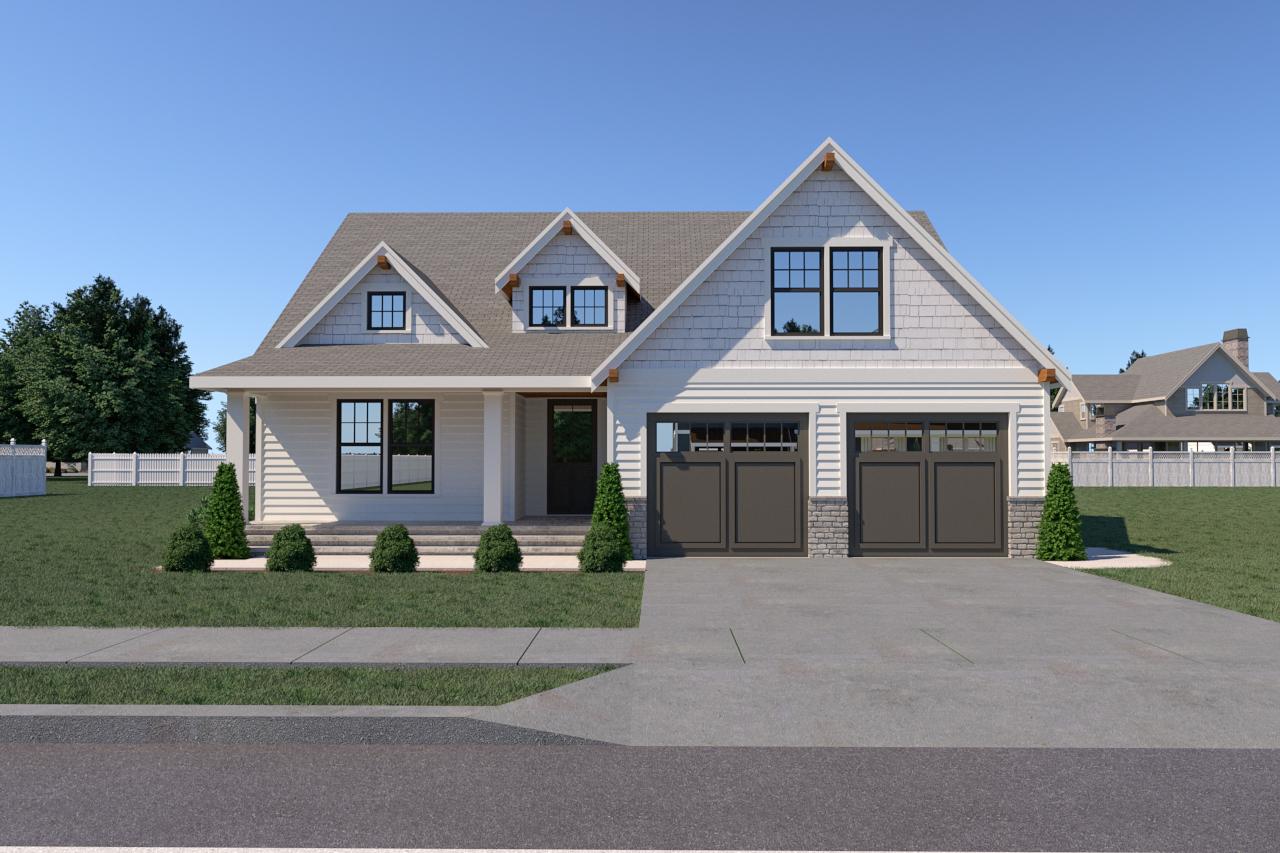 Contemporary Farmhouse 818 818