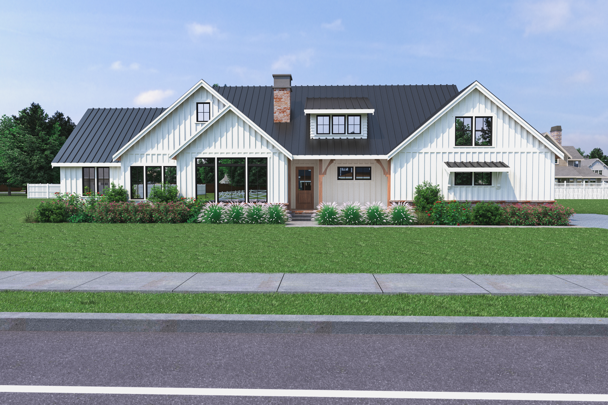 Contemporary Farmhouse 822 822