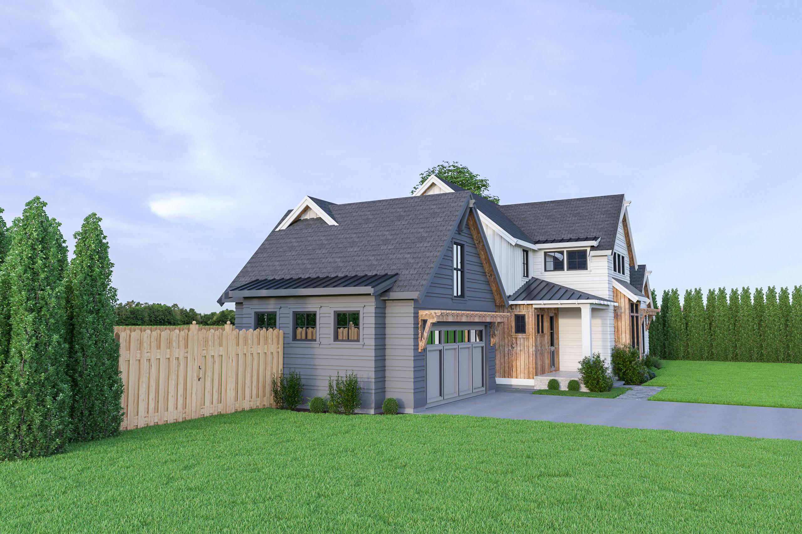 Contemporary Farmhouse 821
