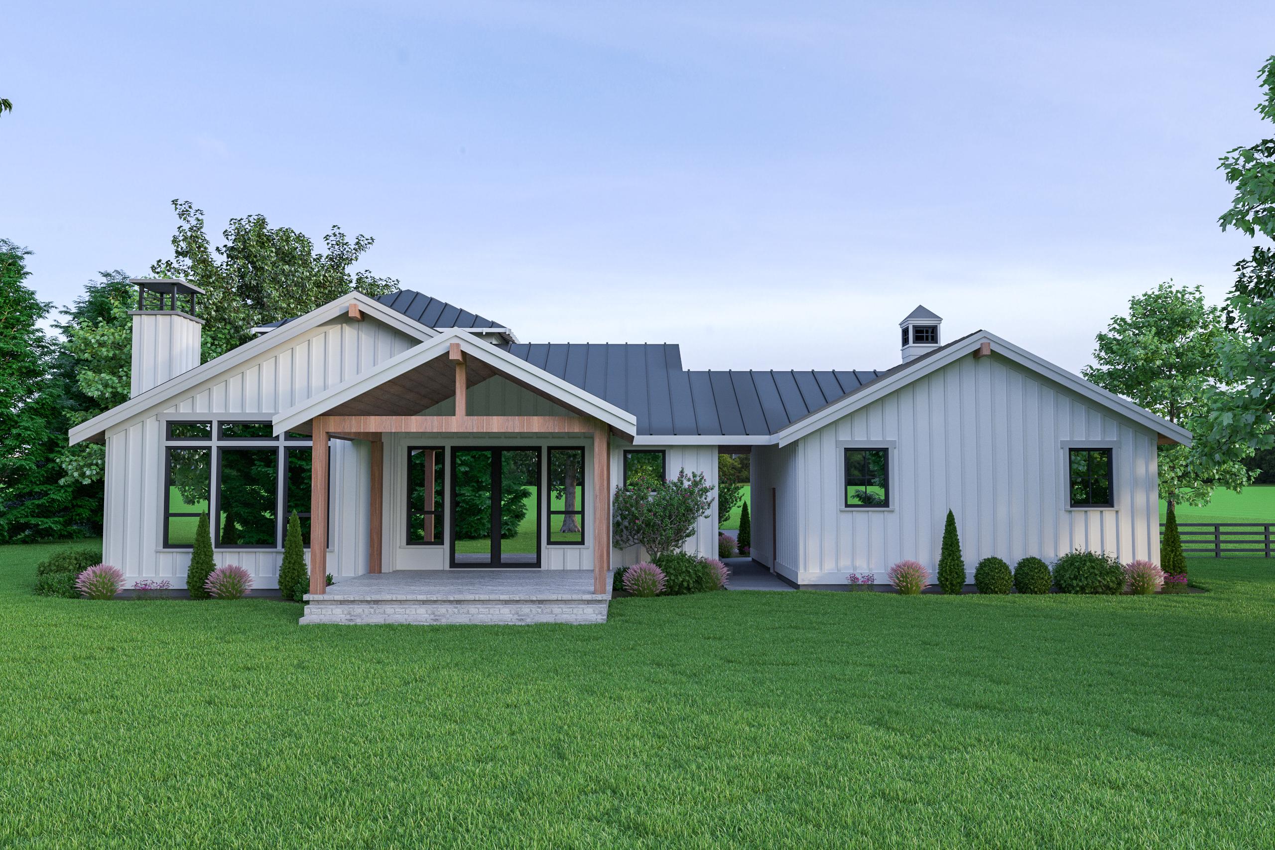 Contemporary Farmhouse 825