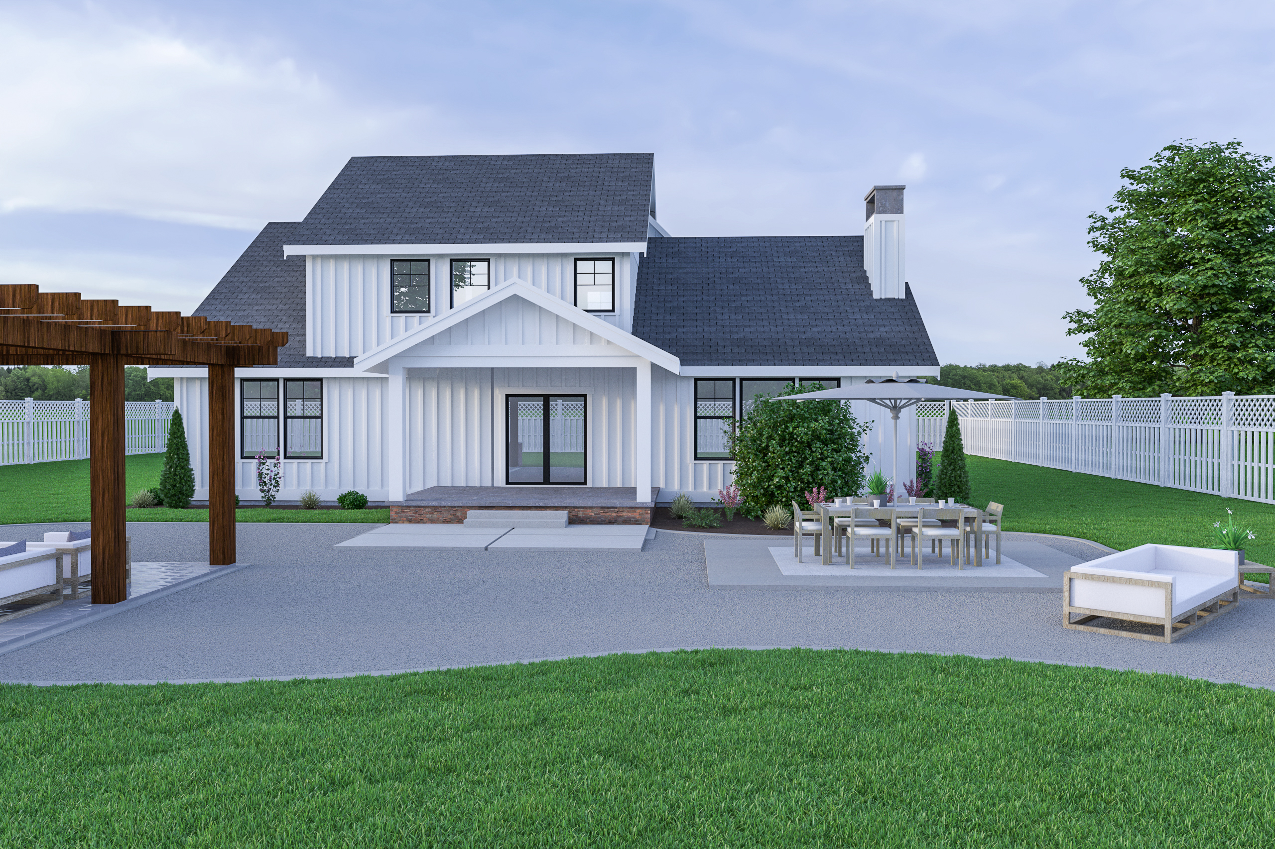 Contemporary Farmhouse 810