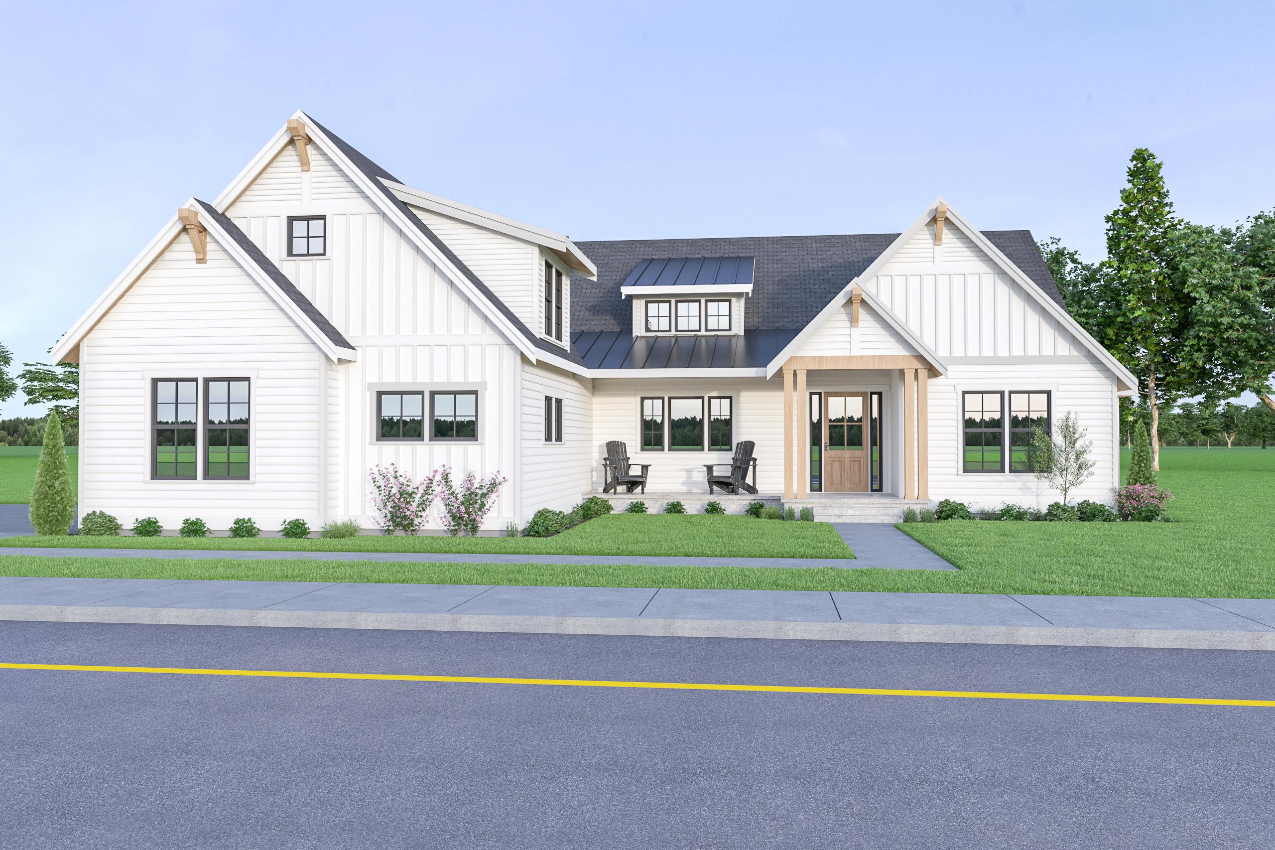 Contemporary Farmhouse 832 832