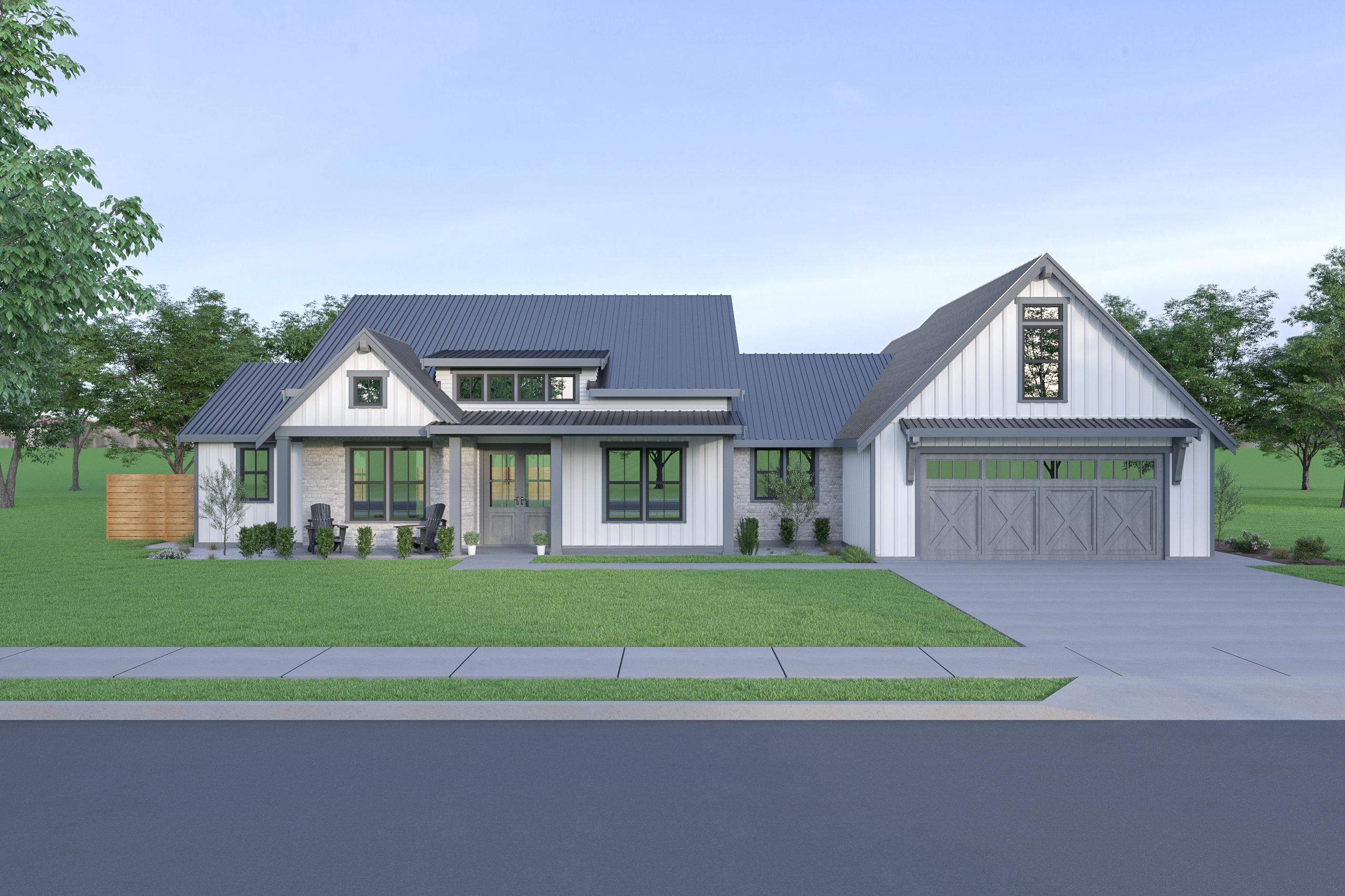 Contemporary Farmhouse 835 835