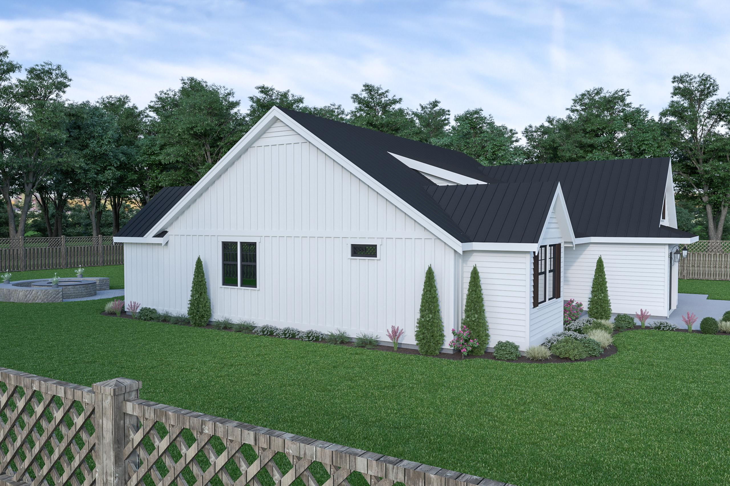 Contemporary Farmhouse 815