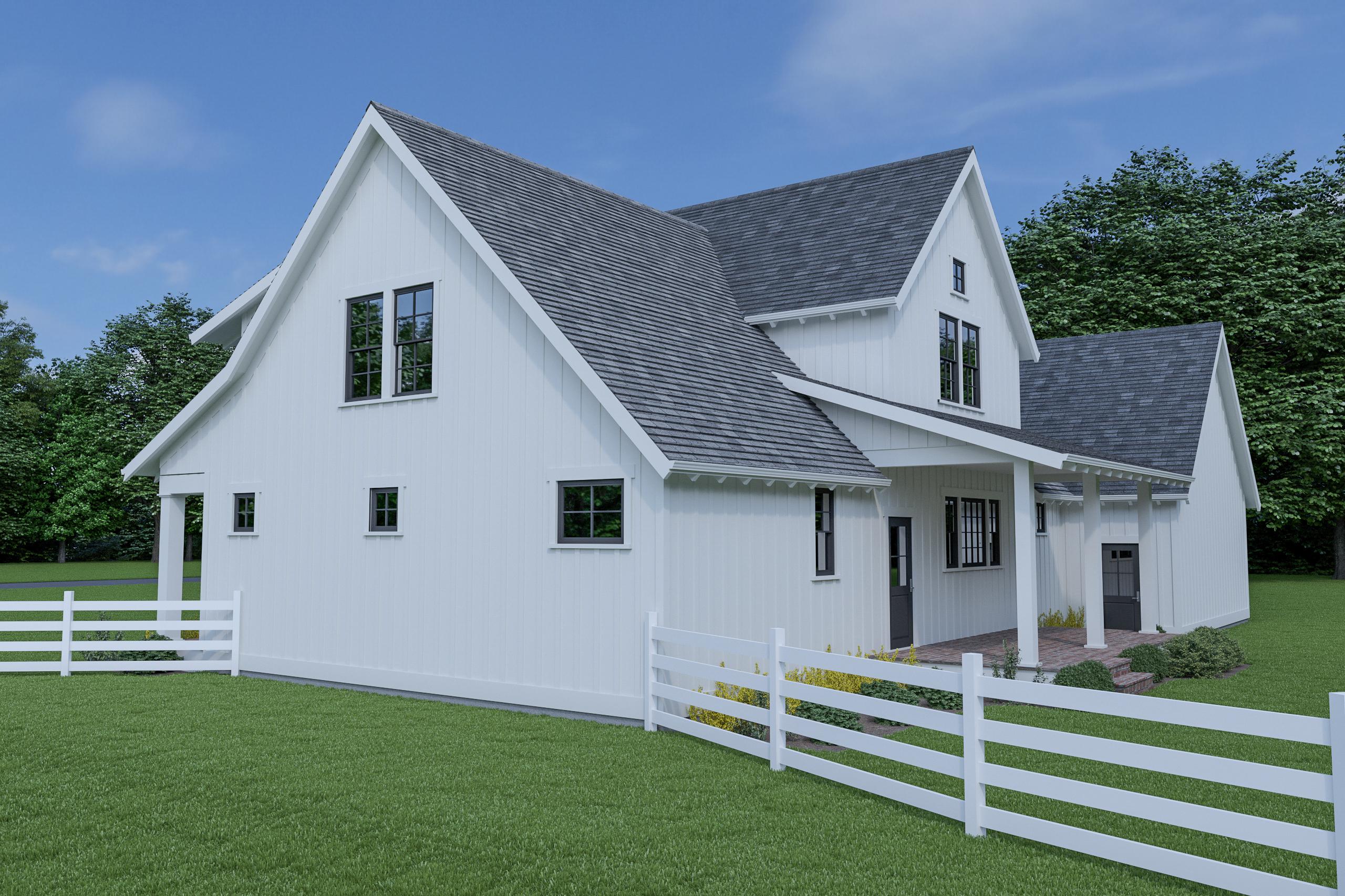 Contemporary Farmhouse 805