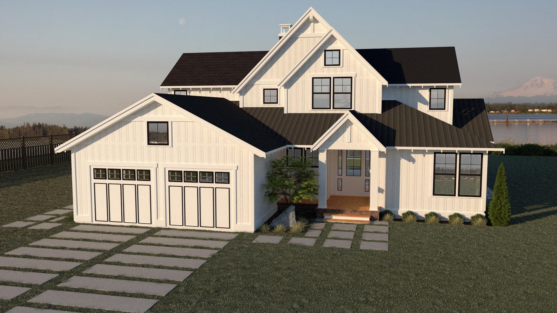 Contemporary Farmhouse 811 18-084
