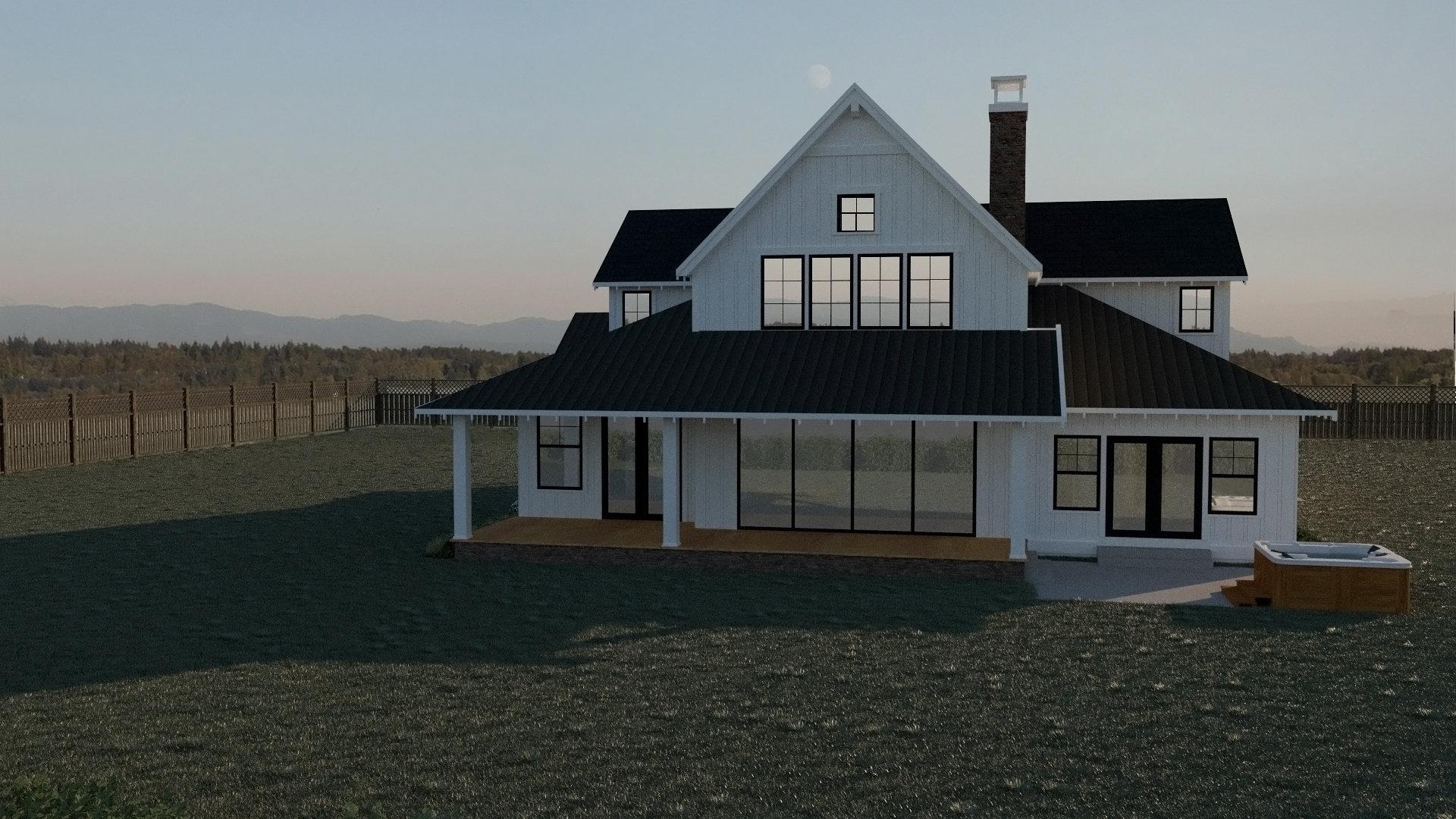 Contemporary Farmhouse 811
