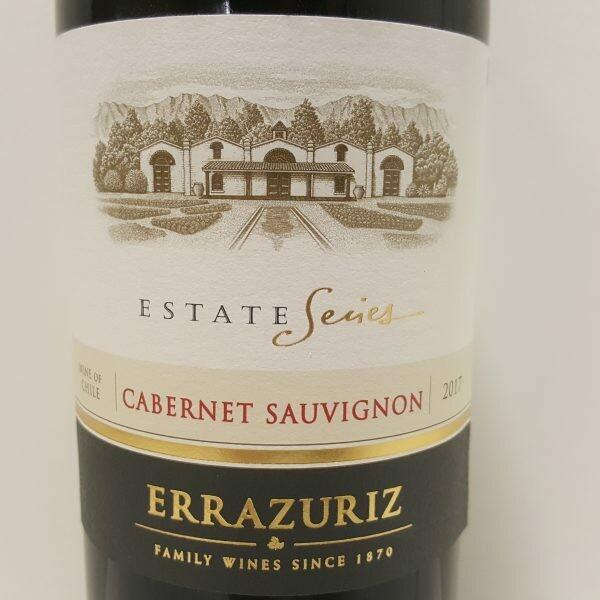 "Errazuriz ""Estate Series"" Cabernet Sauvignon"