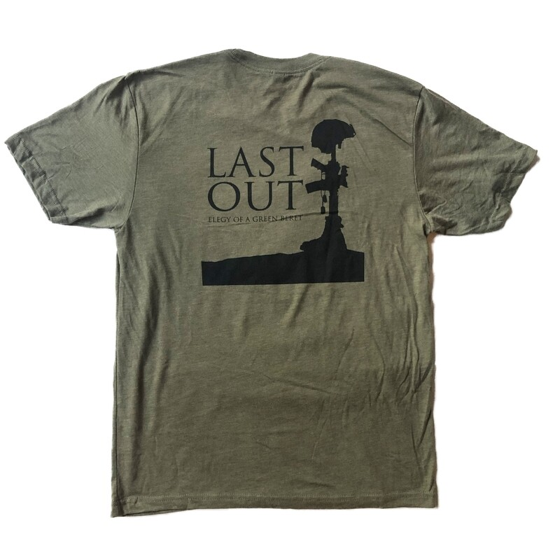 Last Out Unisex T-shirt - Army Green