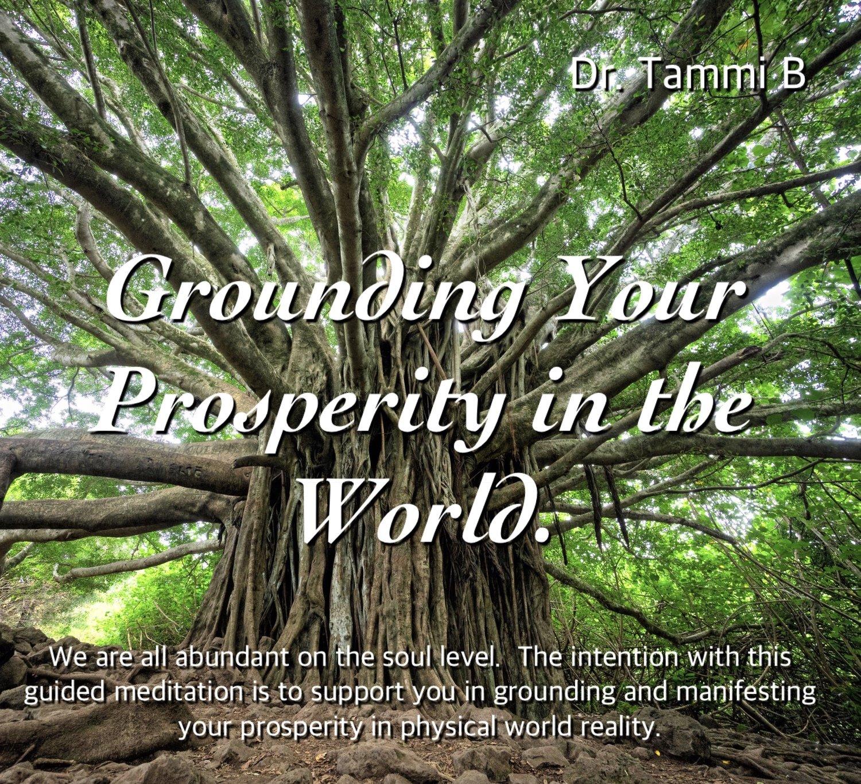 Grounding Prosperity Meditation