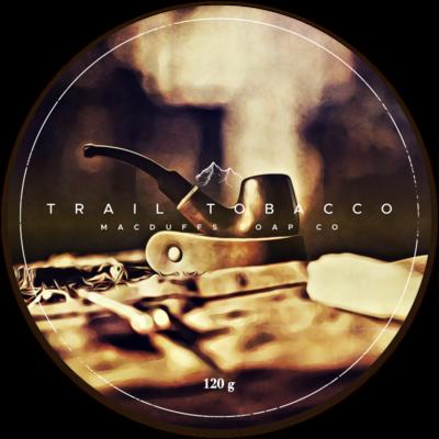 TRAIL TOBACCO SHAVE SOAP