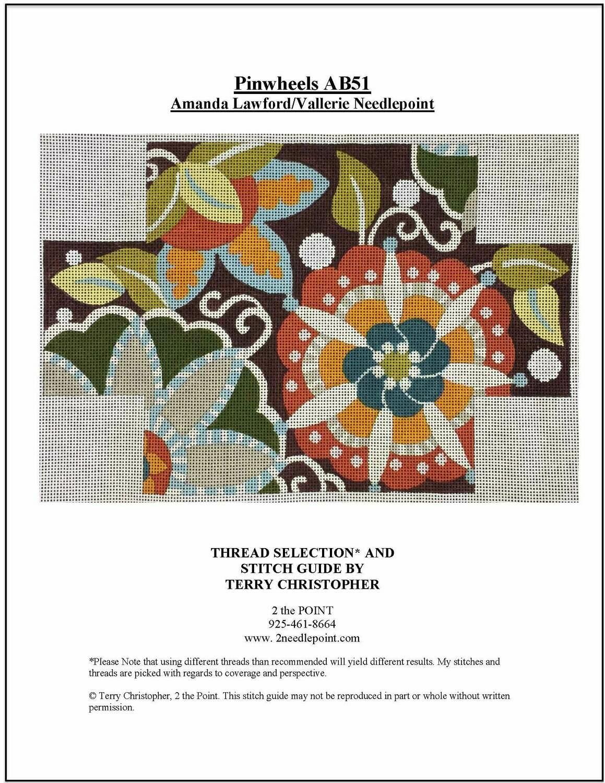 Amanda Lawford, Pinwheels Brick Cover VNGAB51