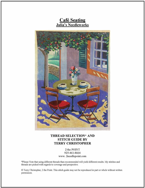 Julia's Needlework, Cafe Seating