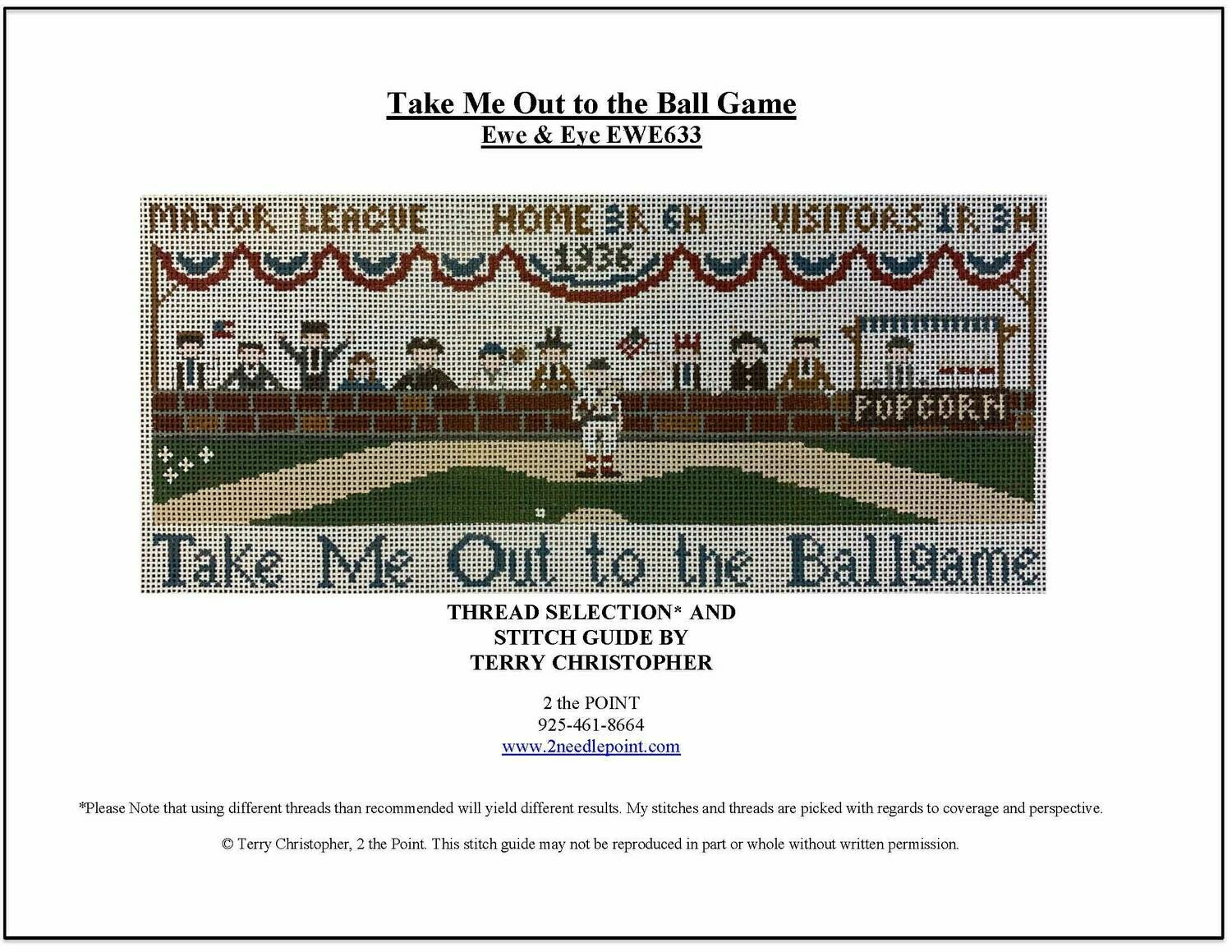 Ewe & Eye,  Take Me Out to the Ball Game EWE633