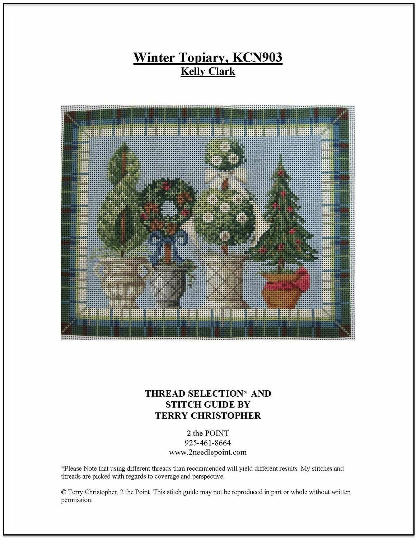 Kelly Clark, Winter Topiary KCN903