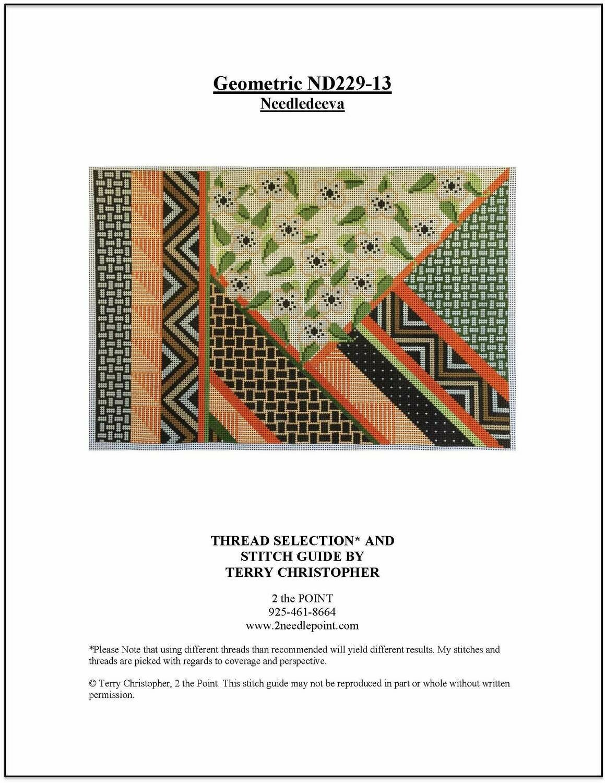 Needledeeva Geometric ND229-13