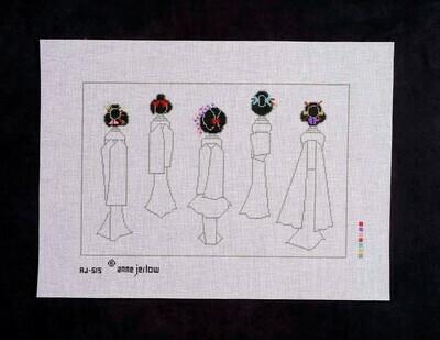 Fleur de Paris, 5 Geisha, AJ515