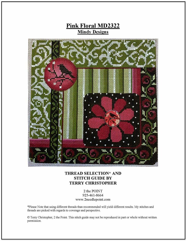 Mindy Designs, Pink Floral MD2322