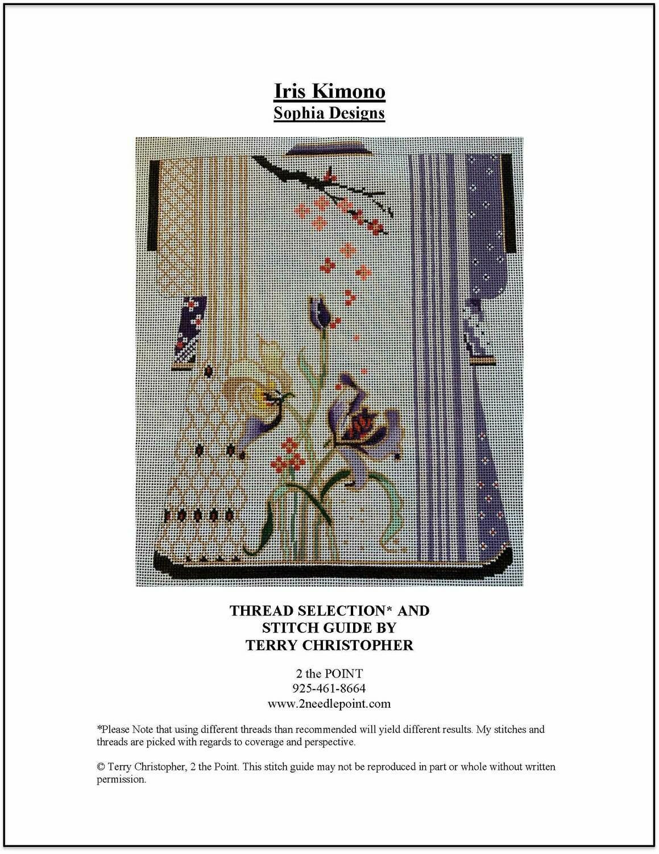Sophia Designs, Iris Kimono