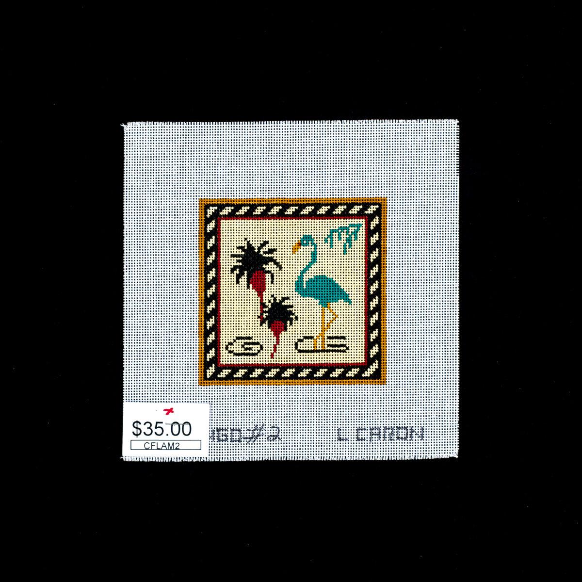 Caron Collections, Green Flamingo, CFLAM2