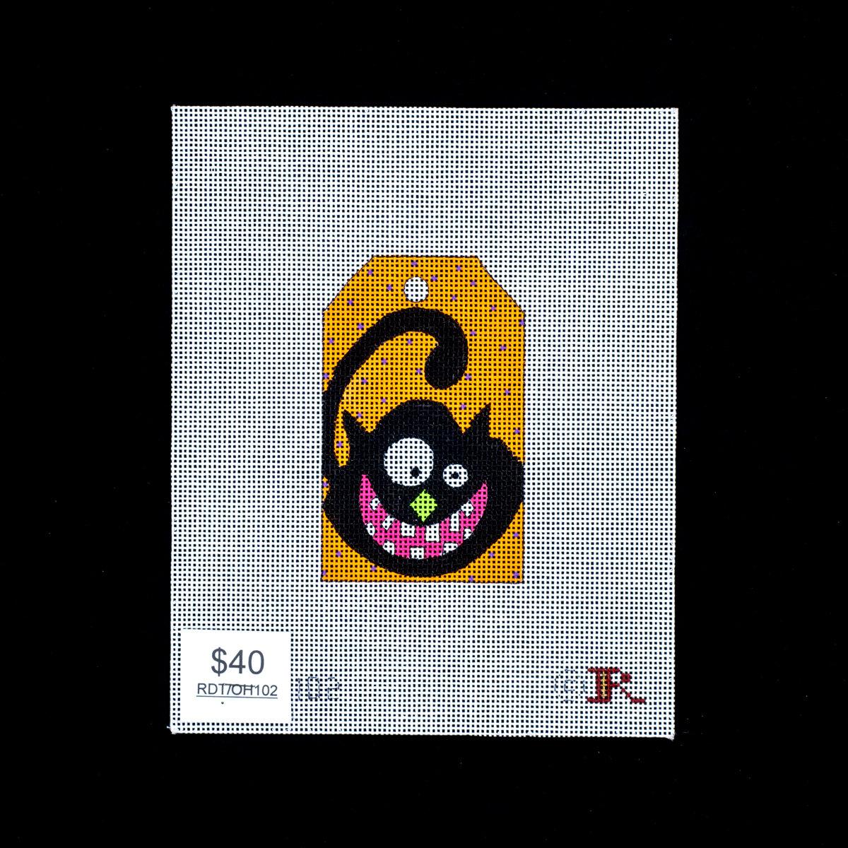 Renaissance Designs, Crazy Eye Cat Tag, RDTOH102