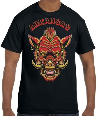 ARKANSAS RAZORBACK BLACK SHIRT