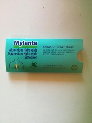 Mylanta Antasid-Obat Maag 1 Sachet @10 Tablet