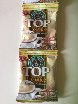 Top Kopi Kental Manis 30g