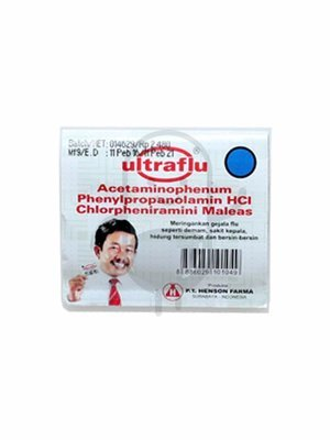 Ultraflu @4 Tablet
