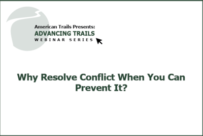 Why Resolve Conflict When You Can Prevent It? (RECORDING)