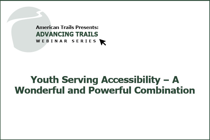 Youth Serving Accessibility – A Wonderful and Powerful Combination (RECORDING)