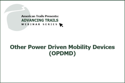 Other Power Driven Mobility Devices (OPDMD) (FREE RECORDING)
