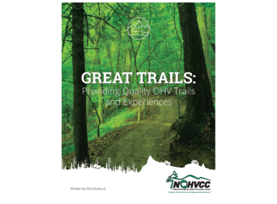 Great Trails: Providing Quality OHV Trails and Experiences