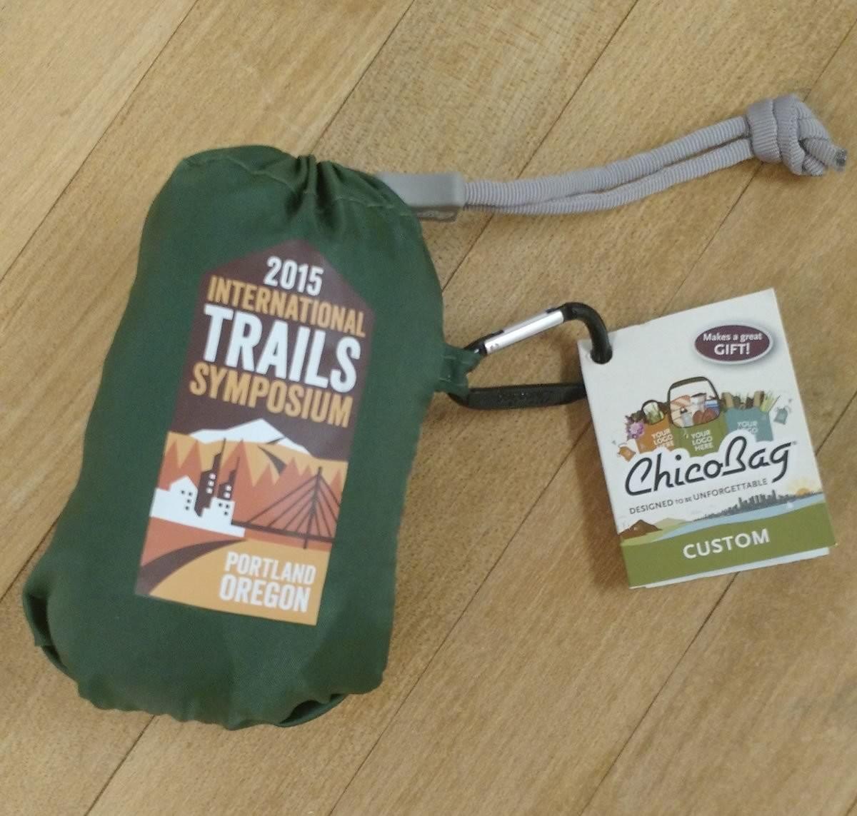 2015 International Trails Symposium ChicoBag
