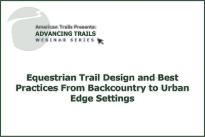 Make it Count: Collecting and Applying Trail Count Data (OCTOBER 22, 2020)