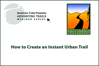 How to Create an Instant Urban Trail (JULY 09, 2020)