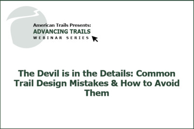 How They Did It: Advocacy, Planning, and Creating Equestrian Trails Through Organization (FREE RECORDING)
