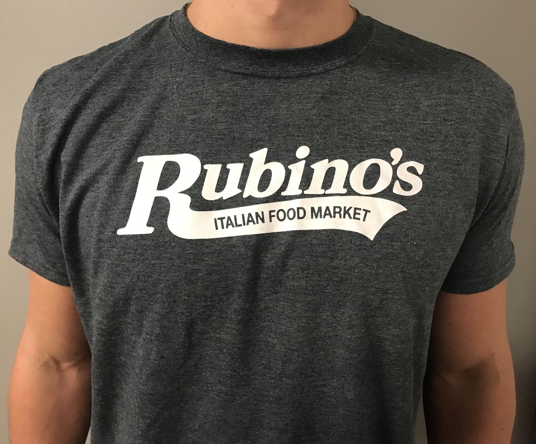 Rubino's Heather Grey T Shirt