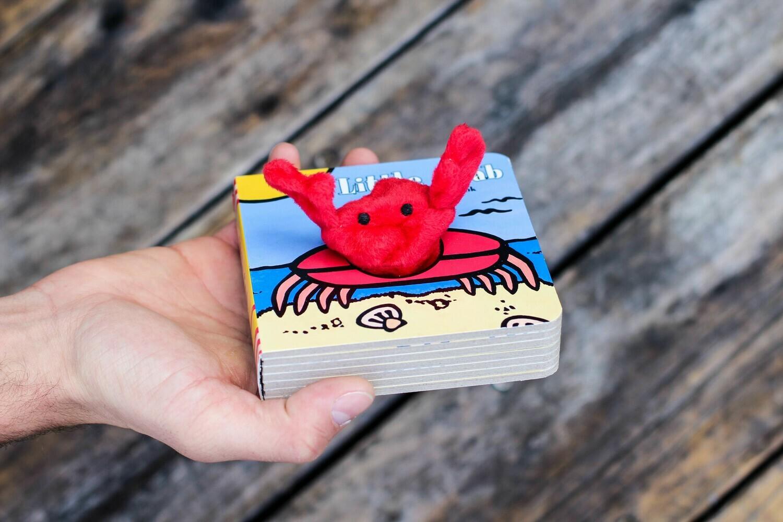 Little Crab Finger Puppet Book