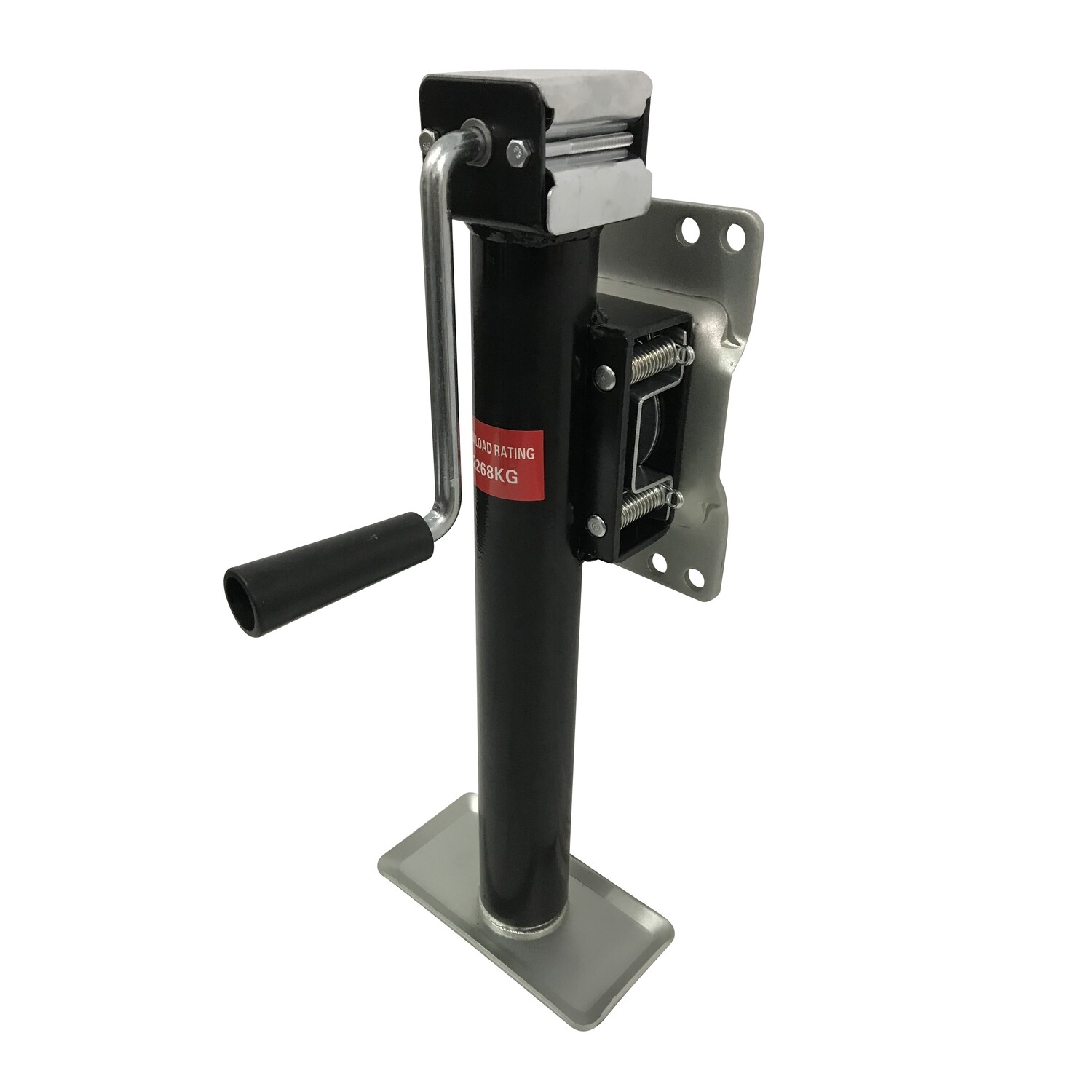 2267kg Caravan Trailer Manual Jack Stand with draw bar fitment