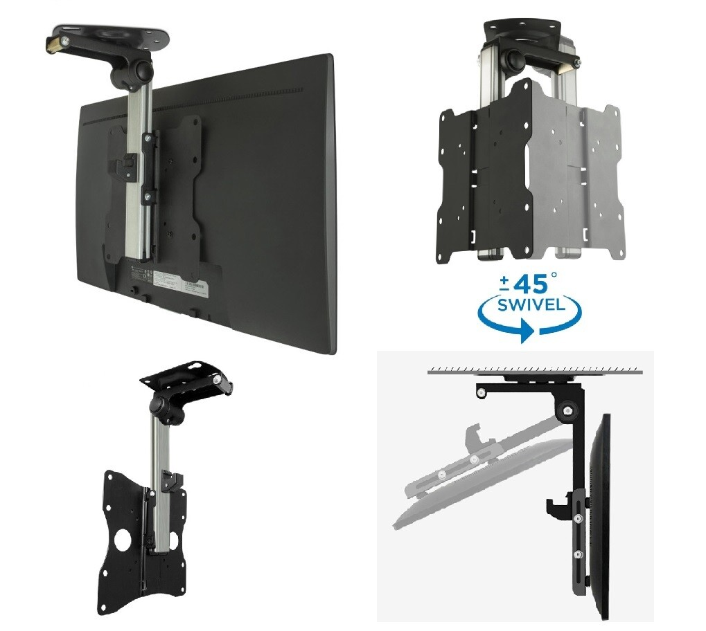 Roof Mount LCD caravan RV TV bracket 17-40inch TVs