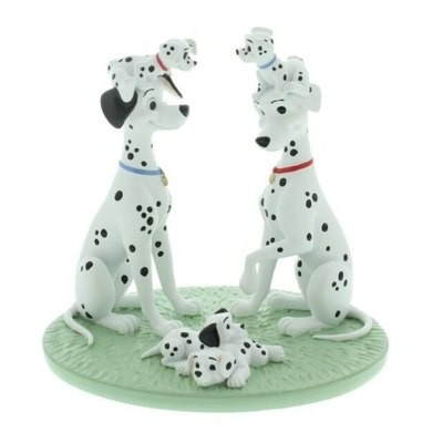 Beeldje Disney  101 Dalmatiers MAGICAL MOMENTS