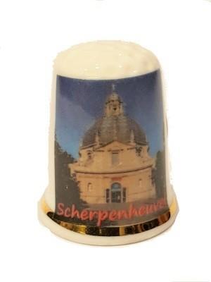 Vingerhoed Scherpenheuvel  Porselein