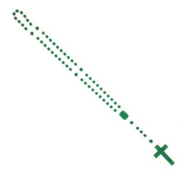 Rozenkrans Nylon Groen +/- 74 cm
