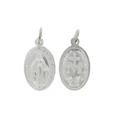 Zakje van 100 x Medailles wonderbare 11 mm aluminium