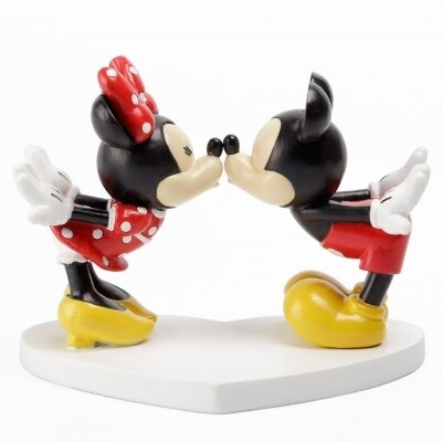 Beeldje Disney Minnie en Mickey Mouse