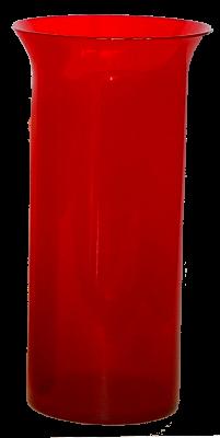 Glas voor kaars 20 cm - Noveenglas - Godslamp -