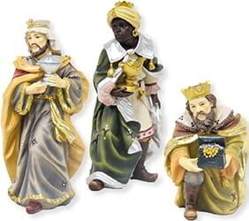 3 Koningen 19 cm Mathias Krippe