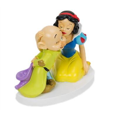 Beeldje Disney  SNEEUWWITJE & DOPEY